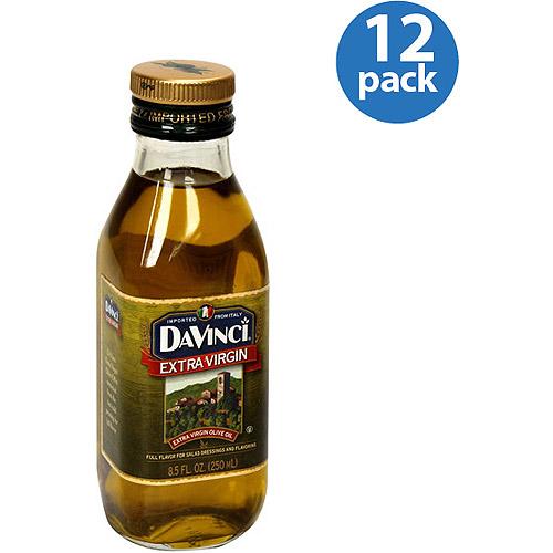 DaVinci Extra Virgin Olive Oil, 8.5 fl oz, (Pack of 12)
