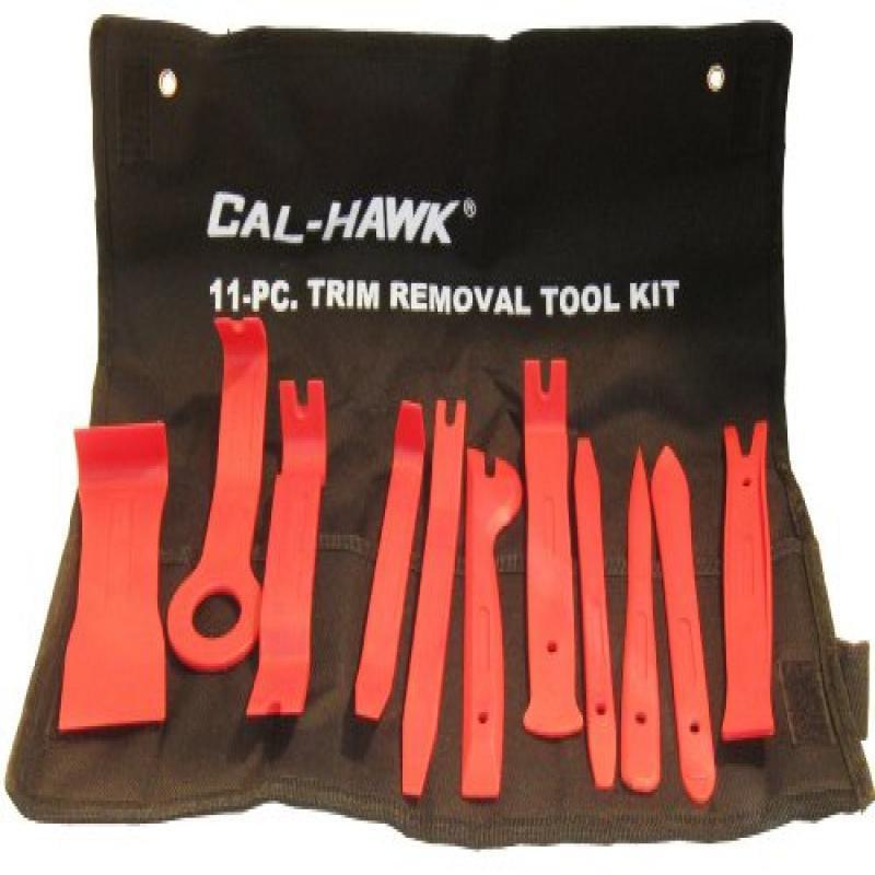 11Pc Auto Trim Door Panel Window Molding Upholstery Clip Removal Tool Kit