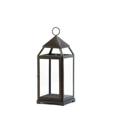 floor lanterns, Large Contemporary hanging metal decorative patio outdoor (Meadow Outdoor Large Hanging Lantern)