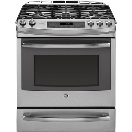 Ge Profile 30 Slide In Dual Fuel Range With Griddle