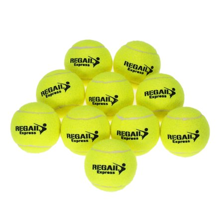 10pcs/bag Tennis Training Ball Practice High Resilience Training Durable Tennis Ball Training Balls for Beginners Competition - image 4 of 7