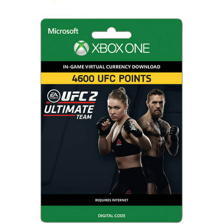 UFC 2 - 4600 UFC POINTS (Xbox One) (Email Delivery) (Xbox 360 Flash Point)