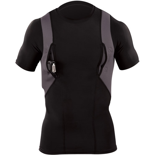 5.11 Tactical Holster Shirt, Crew Neck, Black