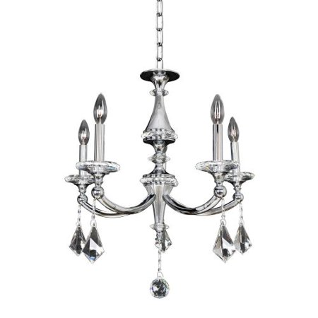 Image of Allegri 012170 Floridia 5 Light 1 Tier Chandelier