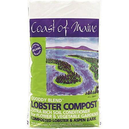 COAST OF MAINE INC Lobster Compost, Quoddy Blend, 1-Cu. Ft. Q1