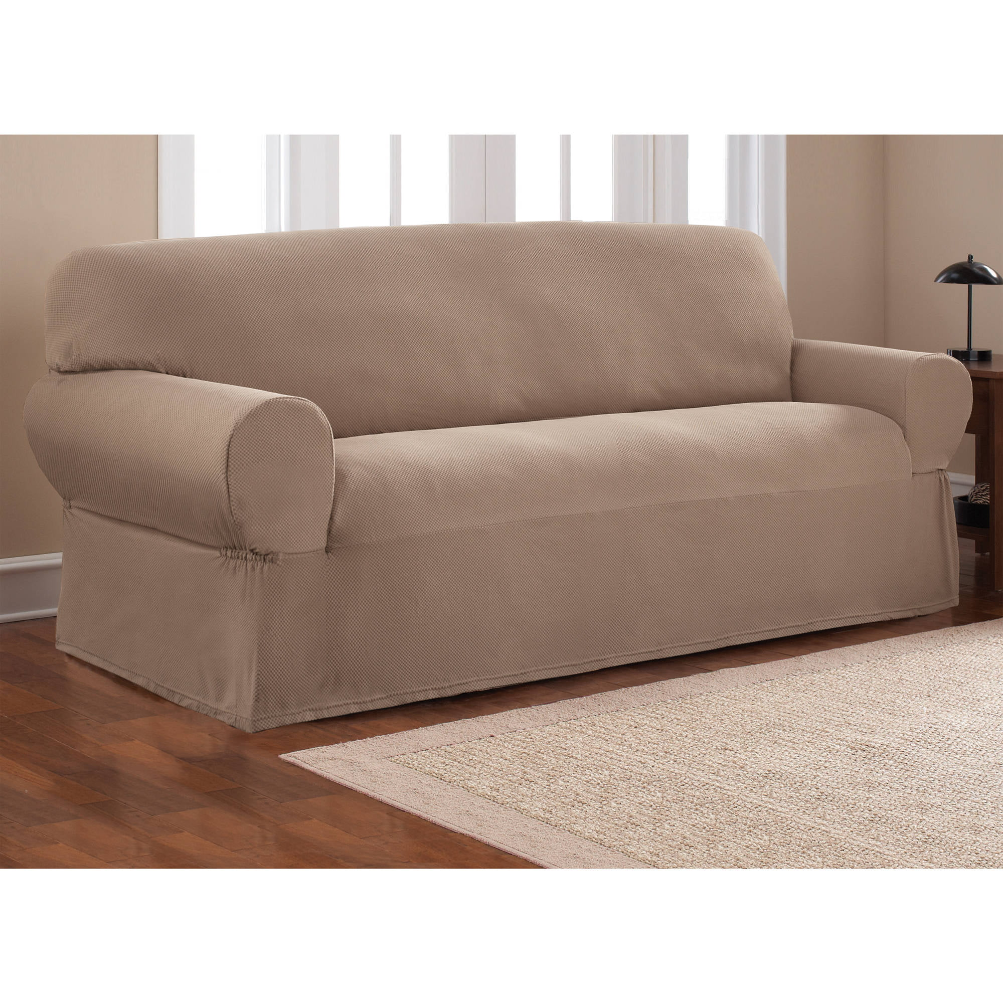 slipcover sofa sure fit furniture plush pdx comfort wayfair reviews