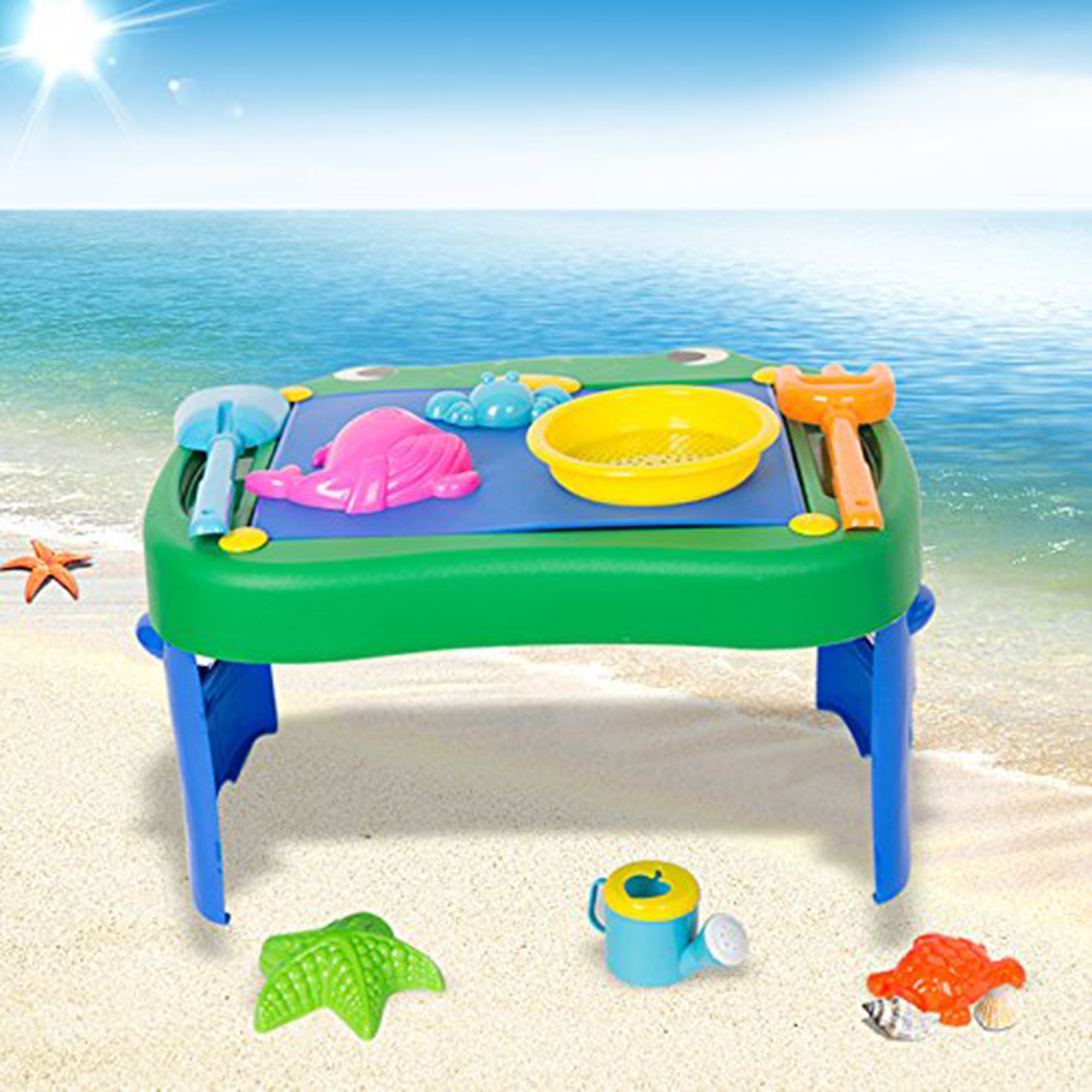 KARMAS PRODUCT Sand Beach Toys Play Set for Kids&Todder by KARMAS PRODUCT