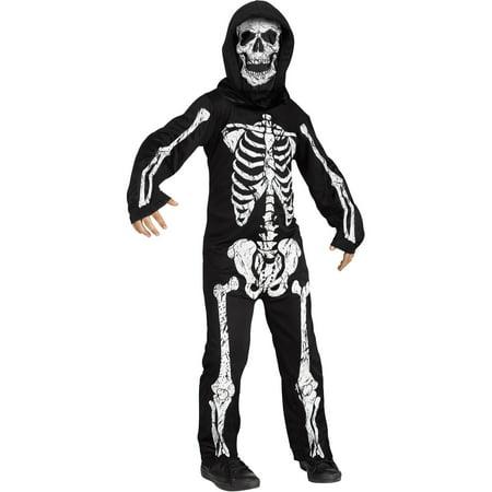 Halloween Skeleton Sweater (Skeleton Phantom White Child Halloween)