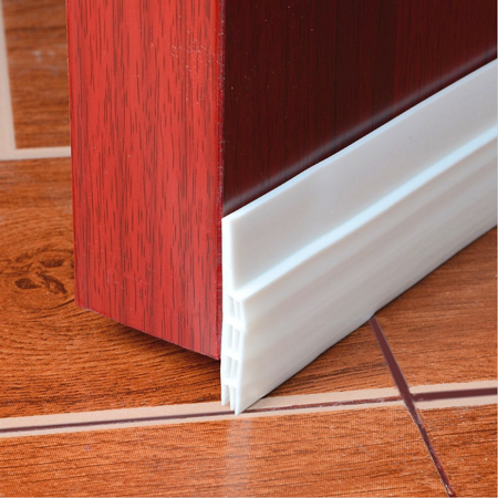 """2"""" W x 39"""" L Self-Adhesive Door Seal Strip Under Door Bottom for Interior Doors Seal Strip Insulation for Weatherproof, Soundproof White - image 6 of 7"""