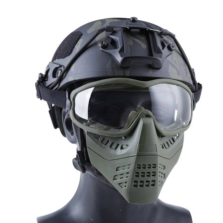 Ant Double Mode Headband System Detachable Lightweight Mask Solid Color - image 10 of 10