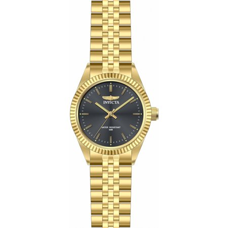 ef4d5908072 Invicta - Invicta Men s Specialty Quartz Black Dial Gold Tone Stainless  Steel Watch 29383 - Walmart.com
