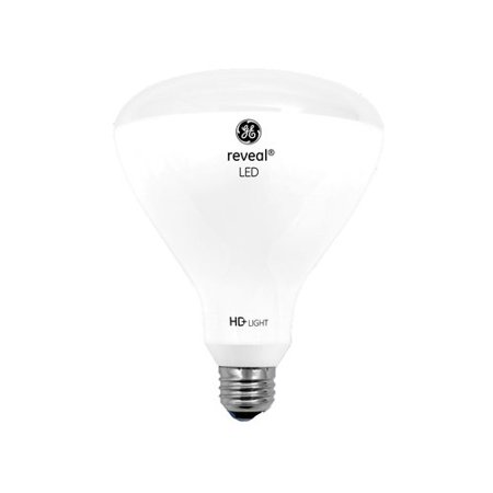 68575 Led Reveal 13 Watt 65 Replacement 800 Lumen R40 Light Bulb With Medium Base 1 Pack Ge Bulbs Filter Out Dull Yellowing By