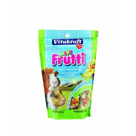 Vitakraft Happy Frutti Guinea Pig Dry Small Animal Treat, 6 Oz