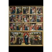 Buy Enlarge 0-587-60443-LP12x18 Fifteen Mysteries and the Virgin of the Rosary- Paper Size P12x18