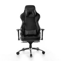 Battery Technology GC-008BLK Elite Gaming Chair Blk/blk Furn Premium Pu Leather Gc-008r1