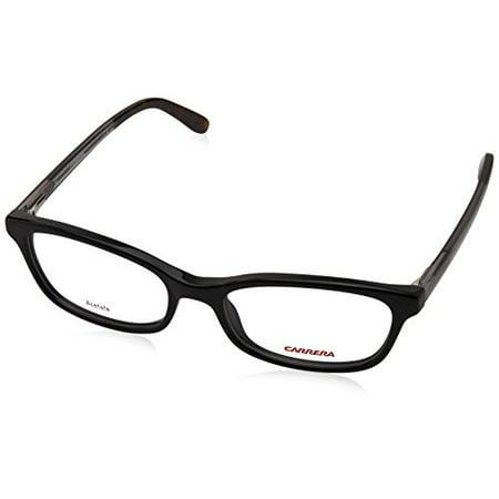 Carrera 6647 Eyeglass Frames CA6647-03L3-5017 - Black Gray Frame ...