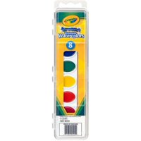 Crayola Washable Watercolors 8 ea (Pack of 4)