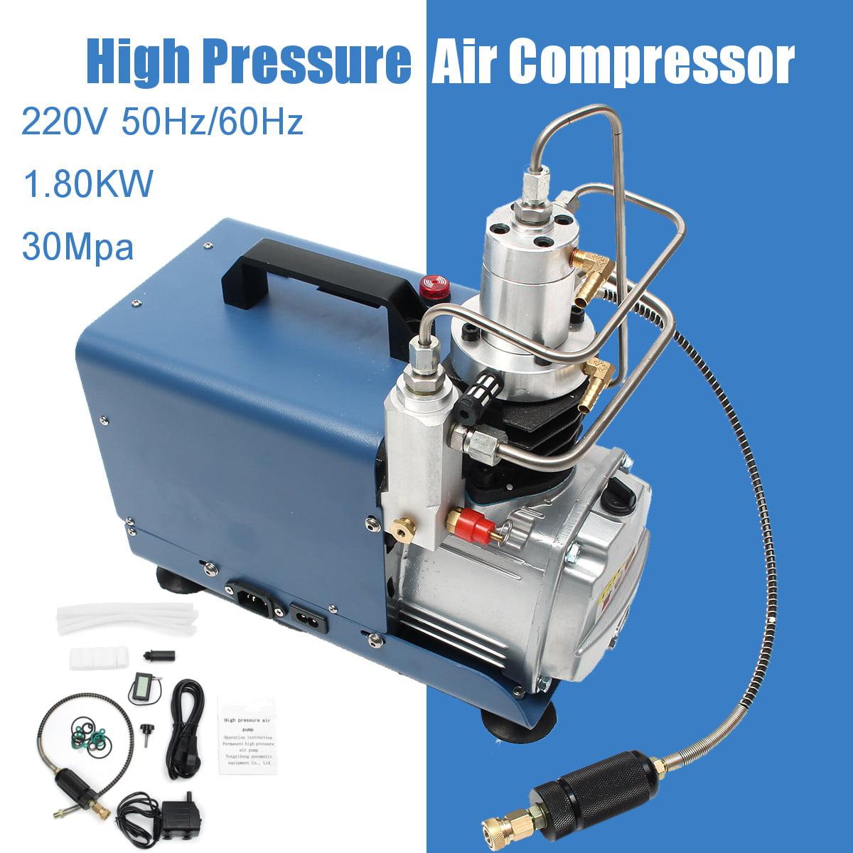 30MPa 4500PSI High Pressure Electric Pump Air Compressor PCP Pressure Setting by