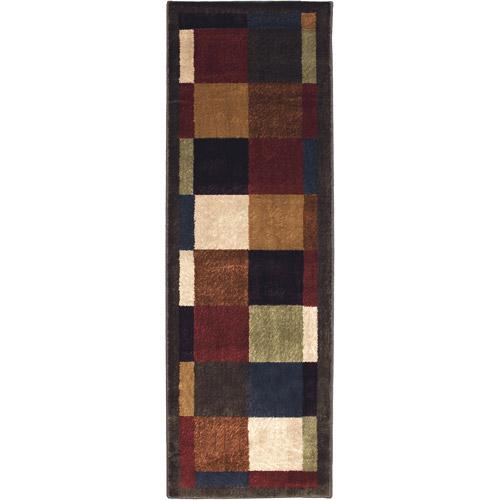 "Mohawk Home Bartley Woven Runner Rug, Brown, 1'11"" x 5'6"
