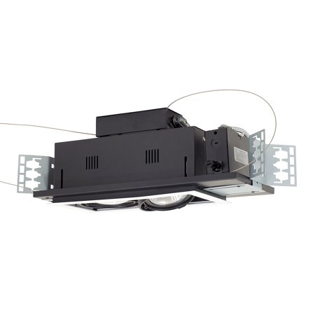 Jesco Lighting MGP30-2WB 2 - Light Double Gimbal Linear Recessed Line Voltage Fixture.