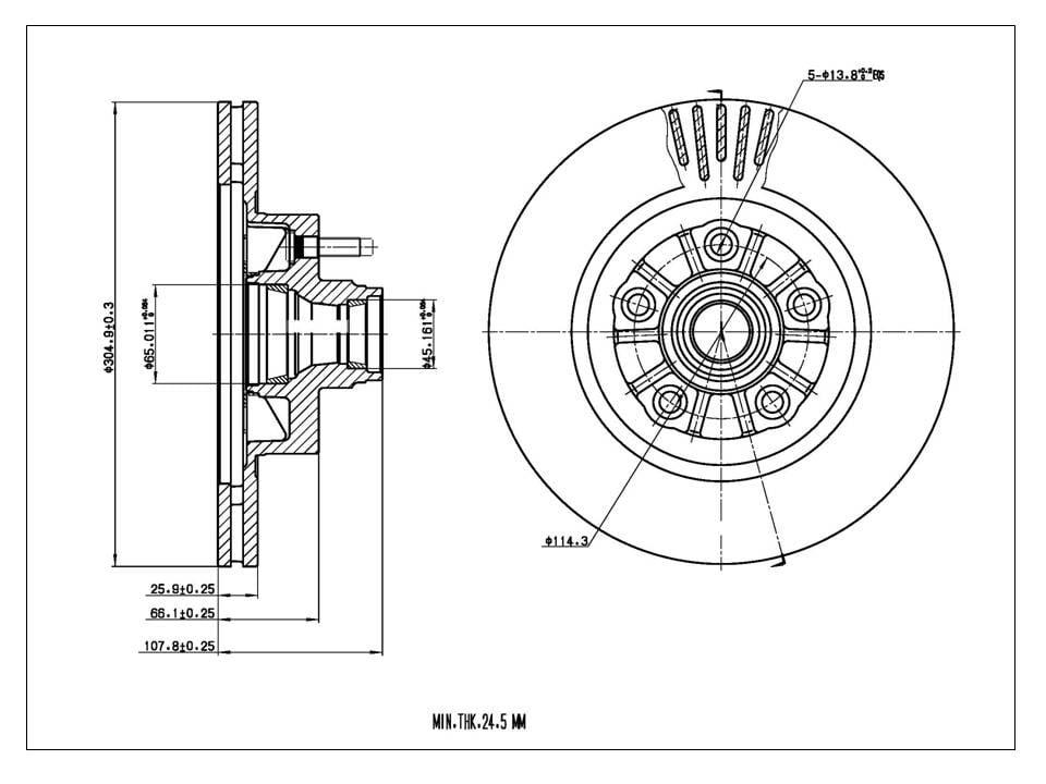 Front Drillslot Brake Rotors Ceramic Pad Fit 01 05 Ford Explorer