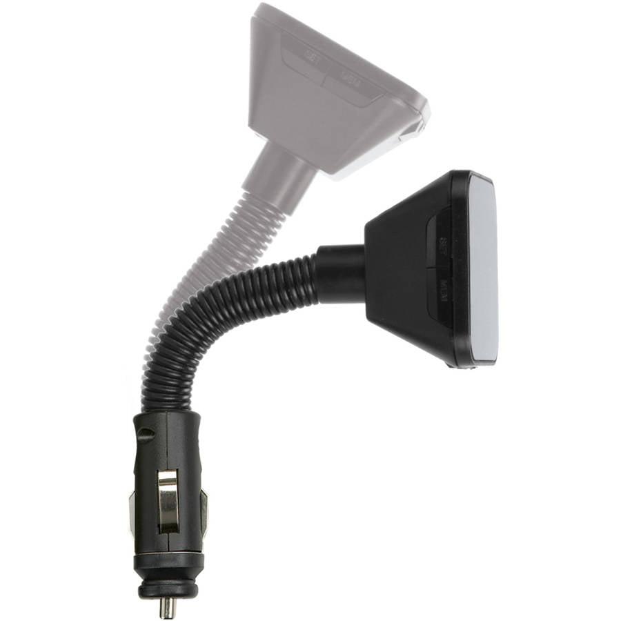 Scosche FMTD13-SP1 Digital FM transmitter with Back Lit Display /& Flex-Neck