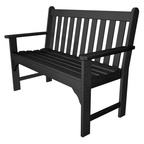 POLYWOOD® Vineyard Recycled Plastic Garden Bench