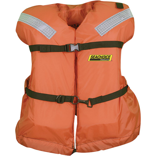 Seachoice Type I Offshore Jacket with Solas Reflective Tape by Seachoice Products