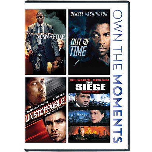 Man On Fire / Out Of Time / The Unstoppable / The Siege (Widescreen)