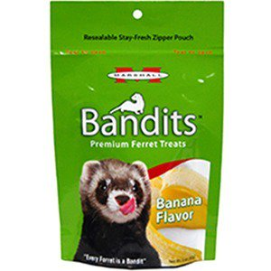 - Marshall Bandits Ferret Treats Banana