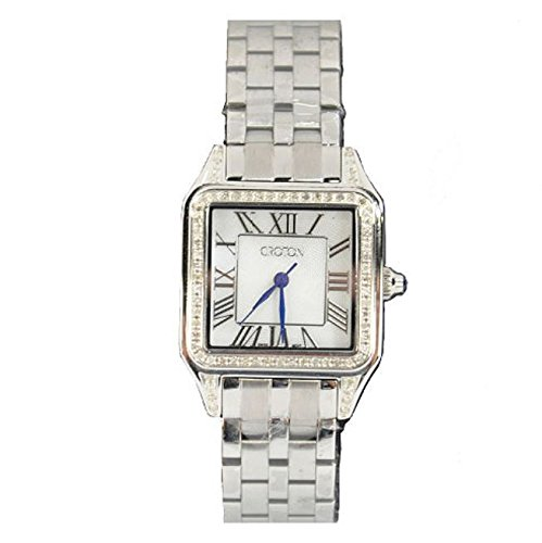 Croton Women's Stainless Steel 1/2ct Diamond Watch
