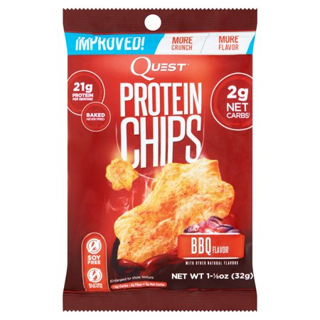 Quest BBQ Flavor Protein Chips, 1.125 oz