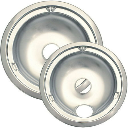 - Range Kleen Chrome Drip Bowl, 2 Piece