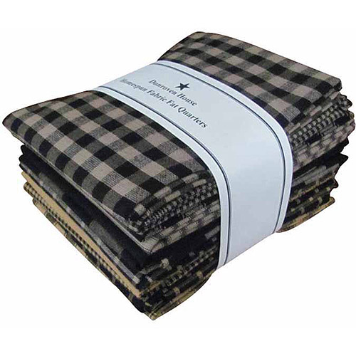 "Dunroven House Fat Quarter Homespun Bundles, 18"" x 22"""