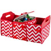 Picnic at Ascot Chevron Trunk Organizer and Cooler Set