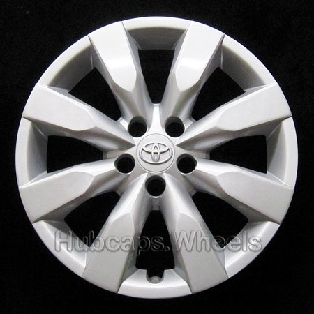 OEM Genuine Toyota Wheel Cover - Professionally Refinished Like New - Corolla 16-inch Hubcap 2014-2016 - 8