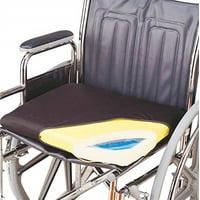 """Skil-Care Gel-Foam Wheelchair Cushion, 18x16"""" with Cloth Cover - 1 Each"""