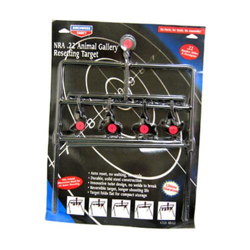 World of Targets® Gallery® .22 Rimfire Animal Resetting Target