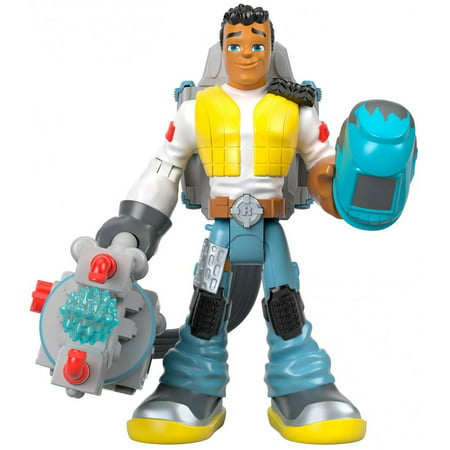 Fisher-Price Rescue Heroes Carlos Kitbash