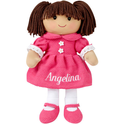 Personalized Rag Doll, Available in 6 Styles