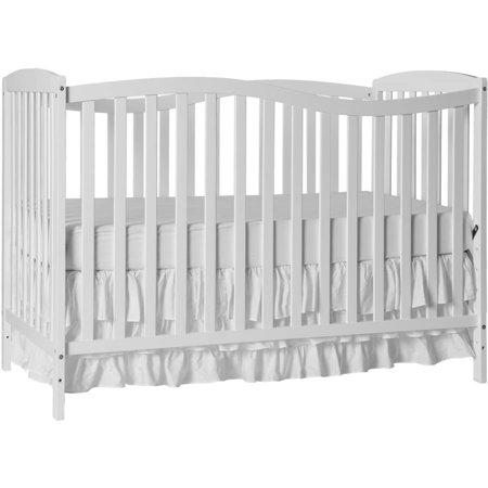 Dream On Me Chelsea 5-in-1 Convertible Crib White