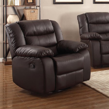 Living in style casta modern manual rocker recliner - Stylish rocker recliner ...