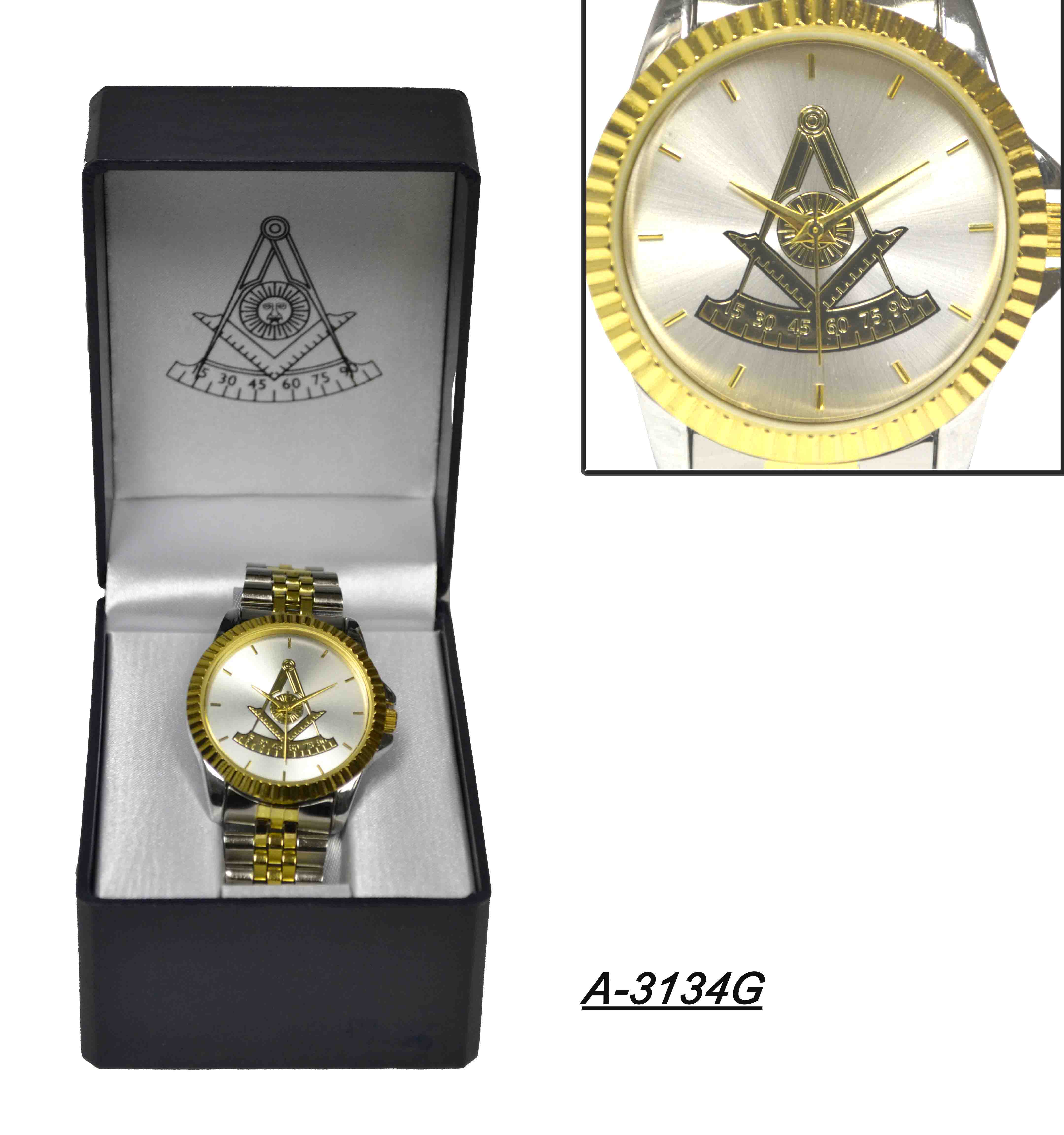 Masonic Wrist Watch 3134G