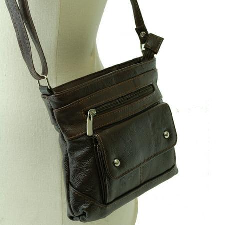 e3d7fc2057 SBR Designs - Women s Genuine Leather Handbag Cross Body Bag Shoulder Bag  Organizer Mini Purse - Walmart.com