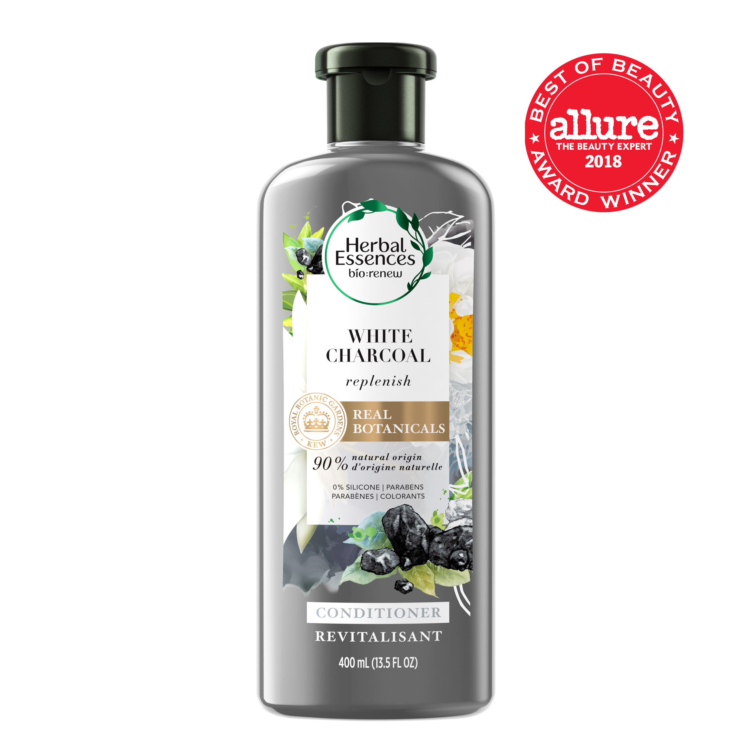 Herbal Essences bio:renew Replenish White Charcoal Conditioner, 13.5 fl oz