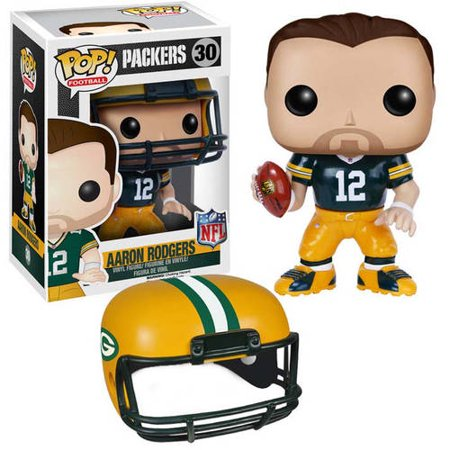 Funko NFL POP 7556 Wave 2 Green Bay Packers Aaron Rodgers