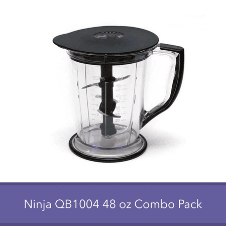 Ninja Master Prep QB1004 Replacement Blender Part - 48 Ounce Pitcher Bowl Blade Lid Combo (Best Price Ninja Master Prep Professional Qb1004)
