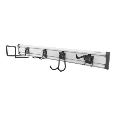 Gladiator Lawn Care GearTrack Pack - Wall organization rail - gladiator gray