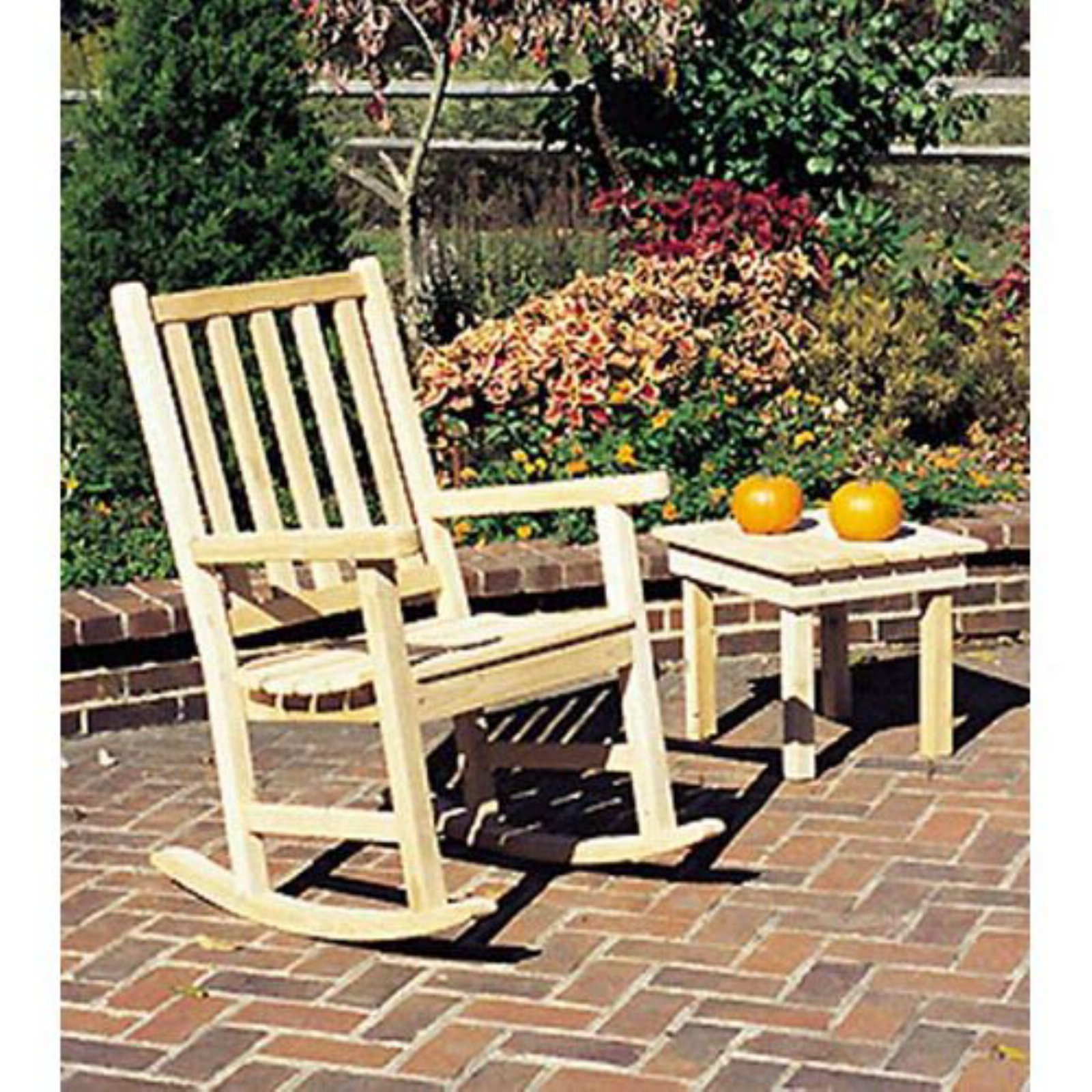 Tidewater Workshop The Nightshade Rocking Chair