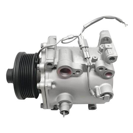 RYC Remanufactured AC Compressor and A/C Clutch GG484 Fits 2000, 2001, 2002, 2003, 2004, 2005 Mitsubishi Eclipse 3.0L ()